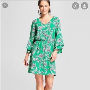 A New Day Bell sleeve dress